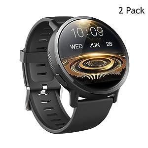 QKa Smartwatch Android 7.1 4G 2.03 Inch 900Mah 8MP Camera Ip67 Waterproof Smart Sport Watch GPS Watch for Men Heart Rate Sleep Monitor Pedometer