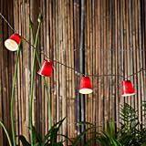 20 Red Cup Battery Operated LED Indoor College Party String Lights
