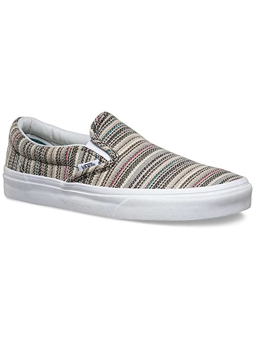 Vans Classic Slip-On Damen Herren Textile Stripes Balsam