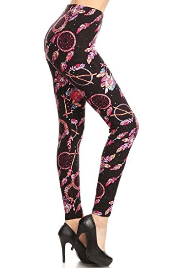 508663115c36ad Leggings Depot Women's Ultra Soft Fashion Leggings BAT14 at Amazon ...