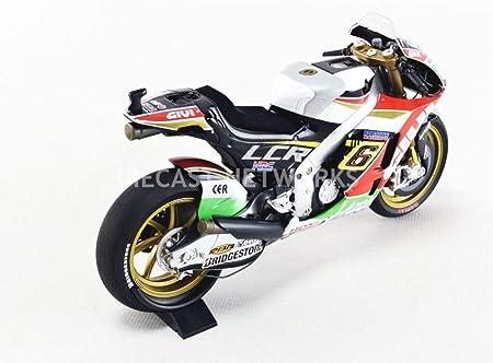 Honda Rc213 V No 6 Lcr Honda Motogp 2014 Model Car Ready Made Minichamps 1 12 Spielzeug