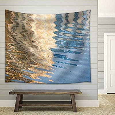 Quality Creation, Pretty Object of Art, Water Surface of the Sea Background Fabric Wall