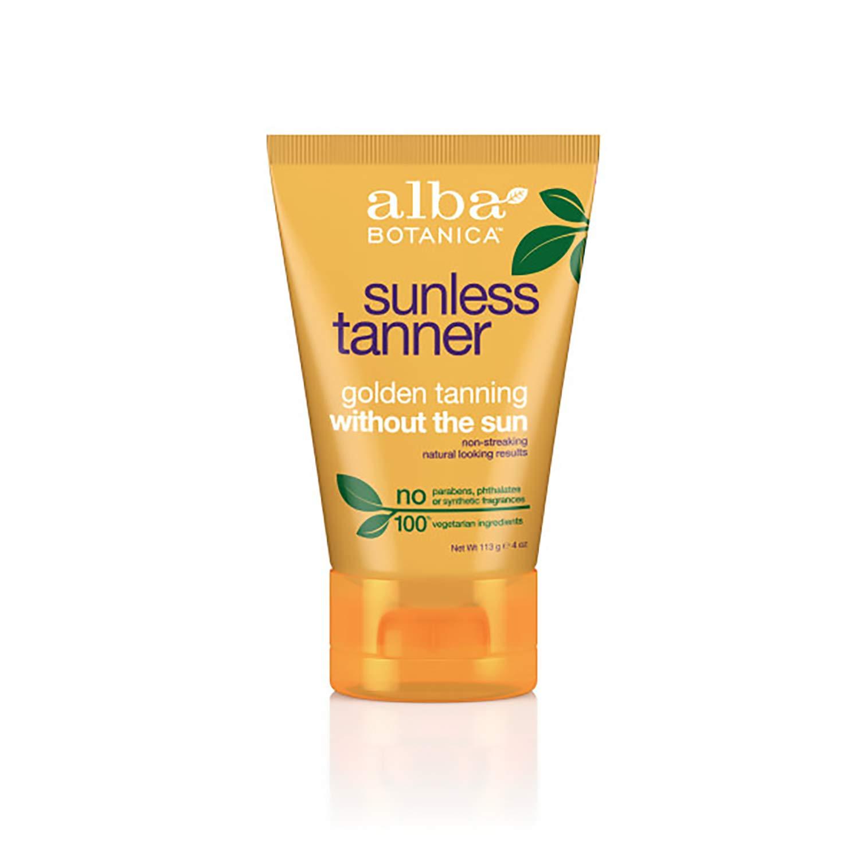Alba Botanica Sunless Tanner Lotion, 4 oz.: Beauty