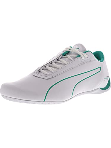 ef9abc6f78c PUMA Men s Mercedes AMG Petronas Future Cat White Spectra Green Ankle-High  Leather Fashion Sneaker - 12M  Amazon.co.uk  Shoes   Bags