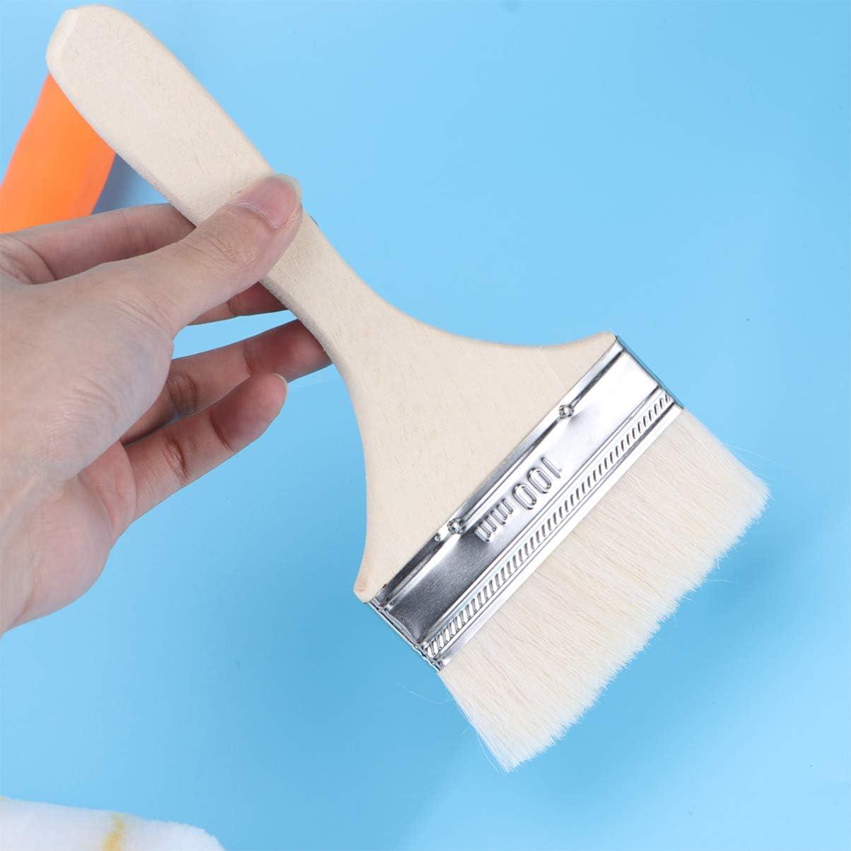 SUPVOX 1 Set Professionnel Pinceau /à jetons pinceaux Rouleau de Peinture bac /à la Maison Fournitures de Peinture Laine Brosse Outils de Peinture