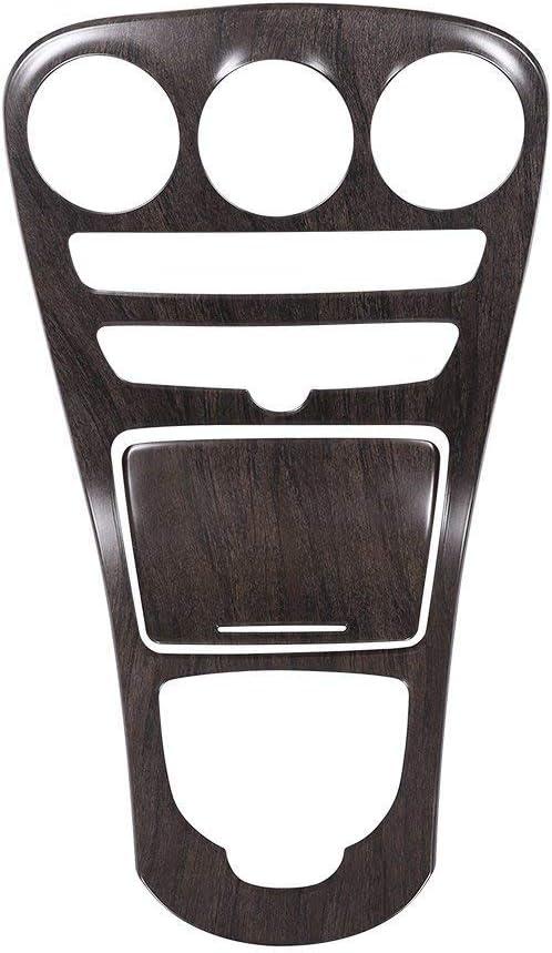 ABS-Mittelkonsole-Schalttafel-Rahmen-Ordnung f/ür C-Klasse W205 Langer Radstand 2015-2017 Carbon-Faser mit Uhr EINWEG
