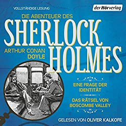 Eine Frage der Identität / Das Rätsel von Boscombe Valley (Die Abenteuer des Sherlock Holmes)