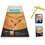 Belly Button Healing Kit for Stress Relief, Pain Relief, Gut Health, and an Energy Boost (Self-Acupressure Tool + Video Instruction + Book)