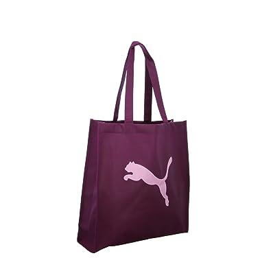 De Mujer 1 Para Shopper Puma Bolso Tela Rojo 0 Talla Color xBzEwXT