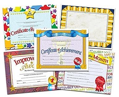 student certificate of achievement