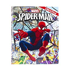 When J. Jonah Jameson demands photos for the Daily Bugle, Peter Parker hits the streets as Spider-Man, encountering infamous super villans along the way! Help Spidey save the day while you search for hidden objects in eight busy scenes. Then ...