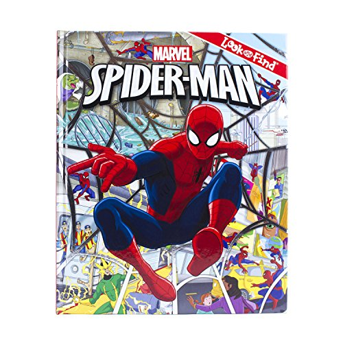 Marvel Spider-Man Look and Find Activity Book - PI Kids (Crafts For Four Year Olds)