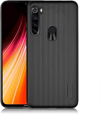 Image of A-VIDET Funda Xiaomi Redmi Note 8, Cubierta Blanda de Silicona Súper Delgada Envuelto Completo de Bordes Anti-caída Anti-Huellas Funda Protectora para Xiaomi Redmi Note 8 (Negro)