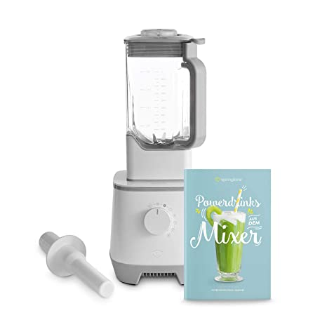Batidora de vaso HANNO | licuadora para verduras y frutas | Vaso de Tritan 2.5L