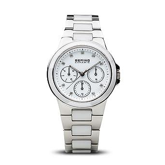 BERING Reloj Analógico para Mujer de Cuarzo con Correa en Acero Inoxidable 32237-754: Amazon.es: Relojes