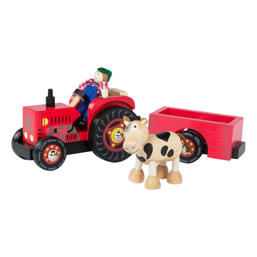 ColorBaby Tractor de madera cm