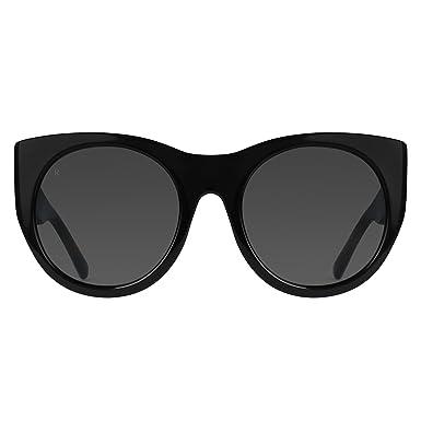 dd20cb5105 Amazon.com  RAEN Optics Women s Durante Black Sunglasses  Clothing