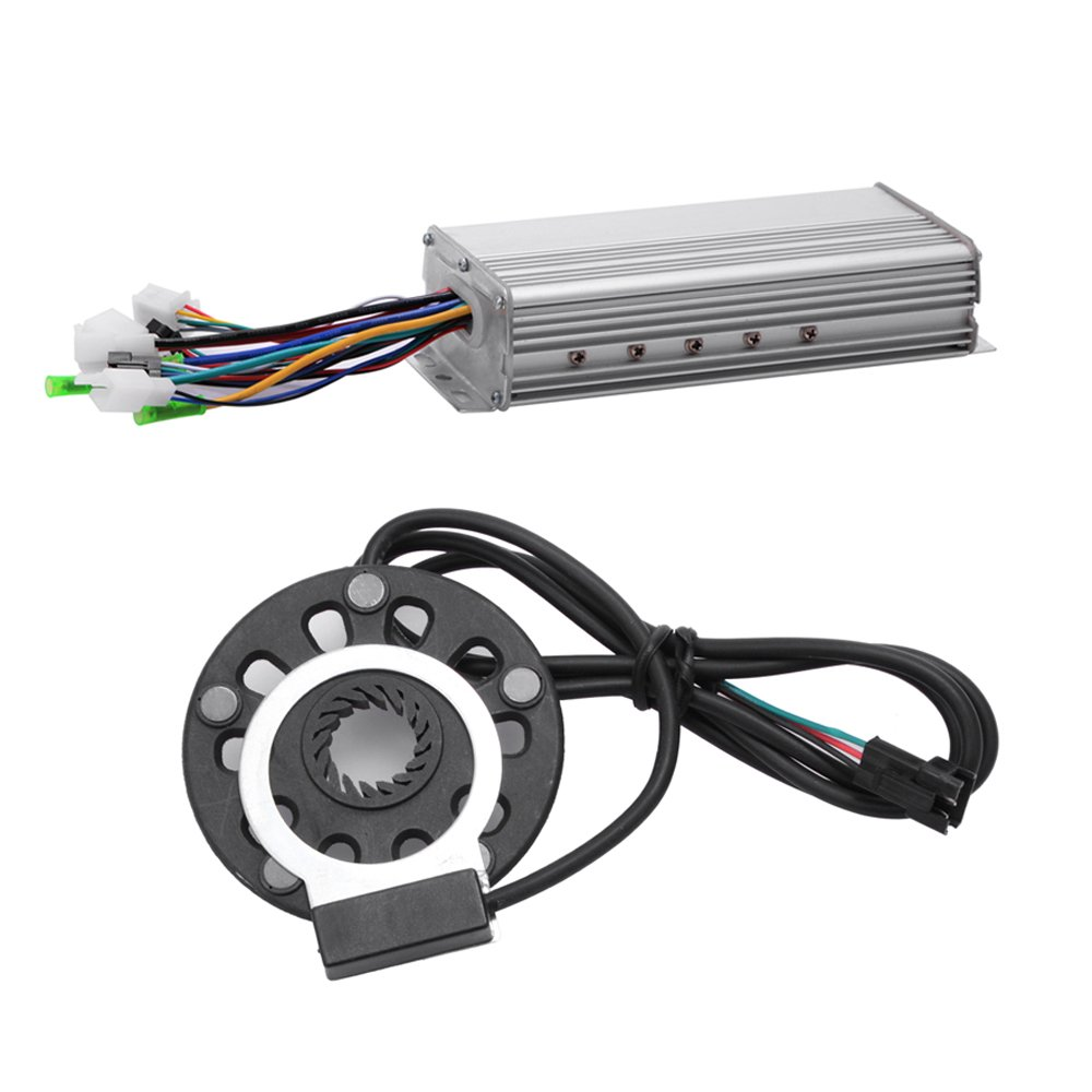 48V/1000W 26'' Front Wheel Bicycle Power-driven Refit Kit by YIXian (Image #6)
