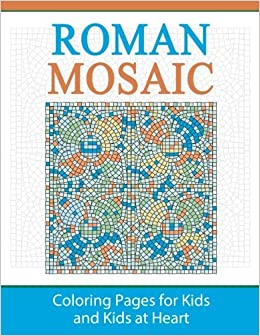 Roman Mosaic Coloring Pages For Kids And Kids At Heart Hands On
