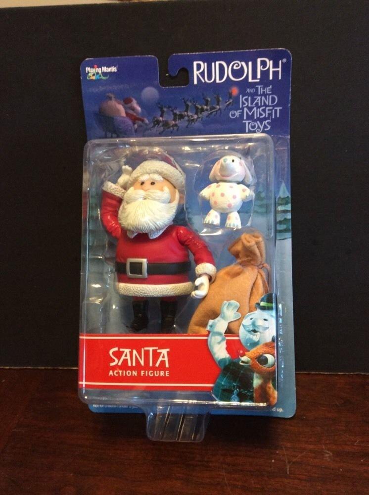 grandes ahorros Rudolph and the Island Island Island of Misfit Juguetes Acción Figura - Santa with Spotted Elephant by Santa Acción Figura  punto de venta barato