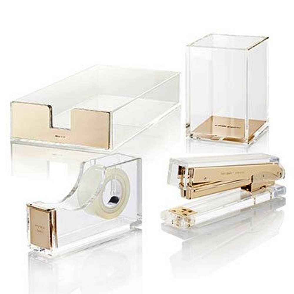 boxes office accessories storage organisers desktop acrylic desk box drawer drawers pin supplies and