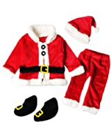 c5efe02c8 ... Set Red - Cat & Jack Baby. $14.99 - $29.99. LNGRY 4PCS Infant Baby Santa  Christmas Tops+Pants+Hat+Socks Outfits Costumes
