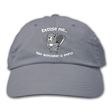 Amazon.com: Excuse Me de ardilla, color animal sombrero ...