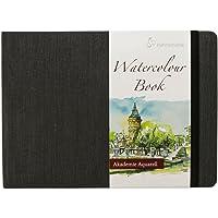 Hahnemuhle Watercolour Paper Book 200gsm 30 Fine Grain Sheets (Landscape)