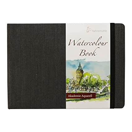 Amazon.com: Hahnemuhle Watercolor Book A5 (5.8x8.3 inches) 200gsm ...