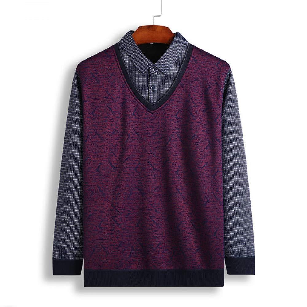 FEIDAO Männer Pullover Winter Mode Lässig Männer Pullover Pullover Slim Fit Baumwolle Patchwork Männer Pullover Pullover Plus Größe