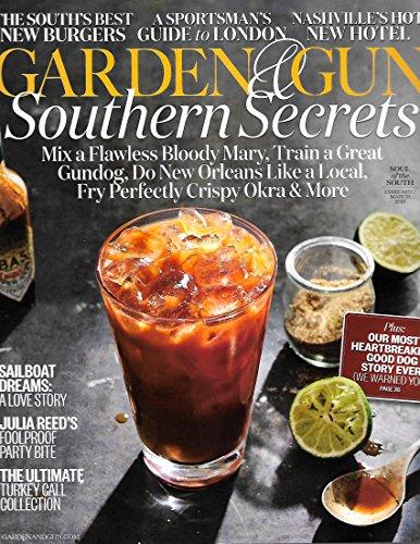 Garden & Gun Magazine February March 2018 MIX A FLAWLESS BLODDY MARY, Train a Gundog, New Orleans
