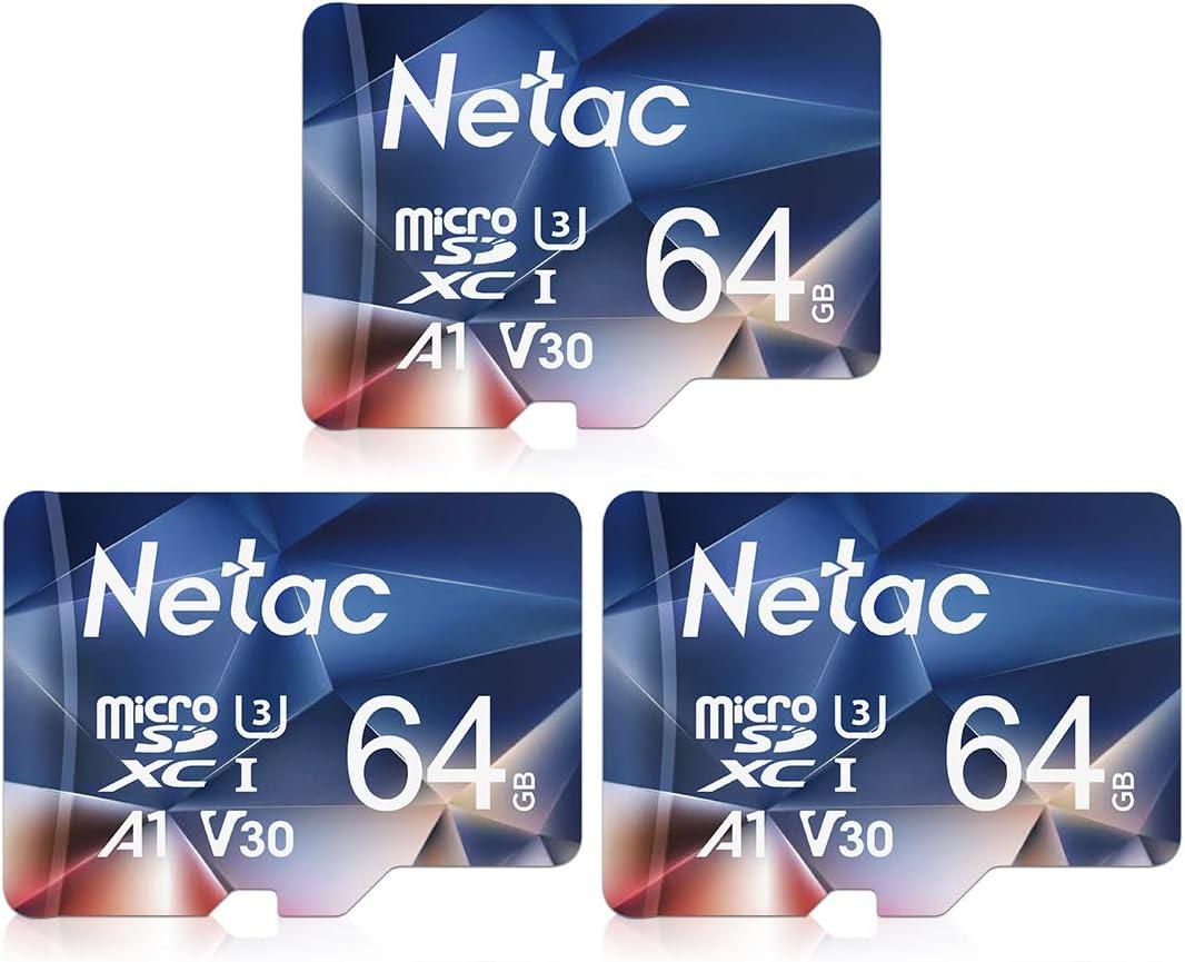 Netac 3er Pack 64gb Speicherkarte Micro Sd Karte Tf Computer Zubehör