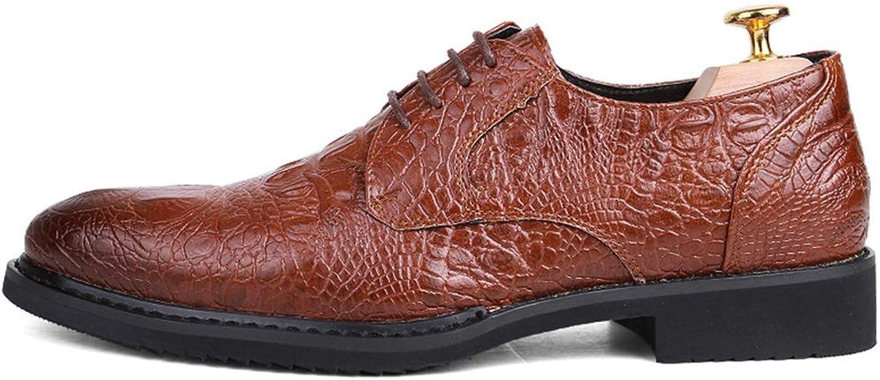 Zapatos para Hombres Oxford Casual Puntiagudo Cómodo