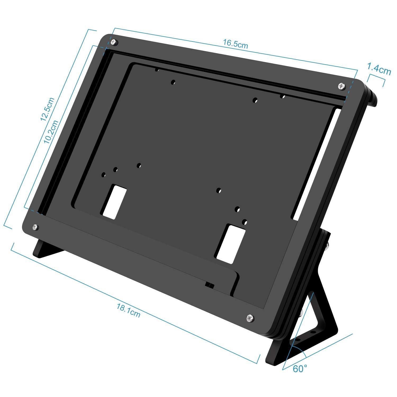 Kuman 7 inch Raspberry Pi Touch Screen Case Holder by kuman (Image #2)