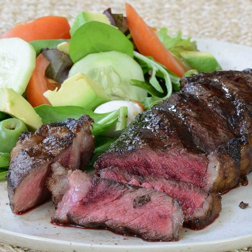 Buffalo NY Strip Steaks - 2 steaks, 10 oz ea