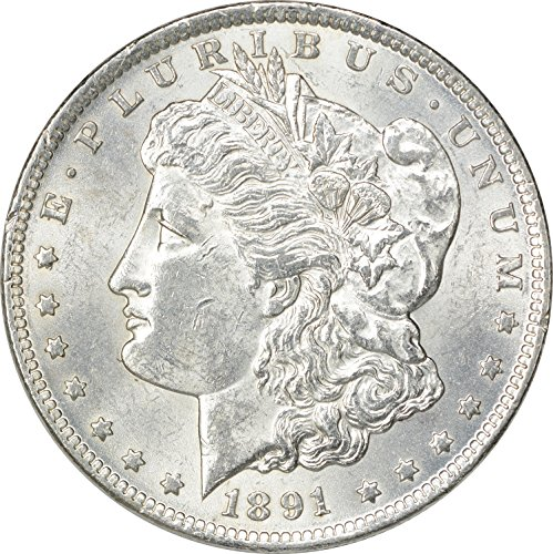 1891 CC Morgan Dollar MS60
