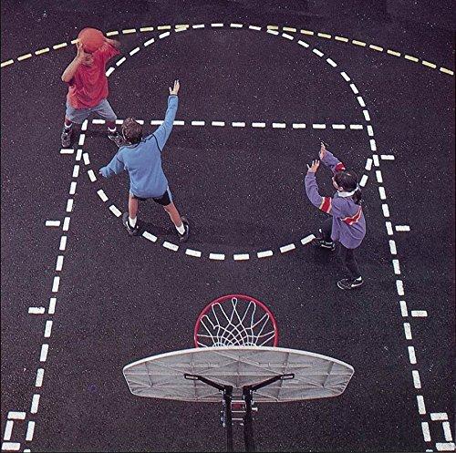 (Jaypro Sports Basketball Court Stencil)