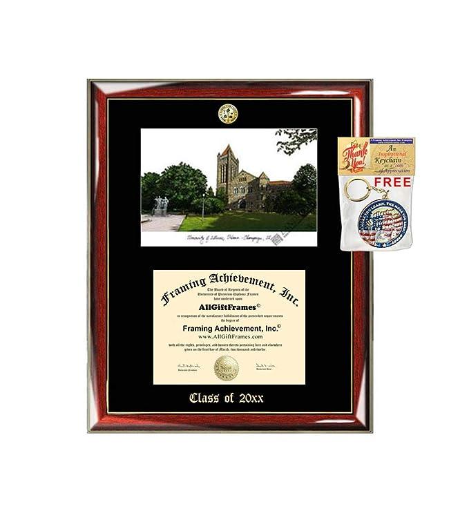 Amazon com : University of Illinois Urbana Champaign Diploma