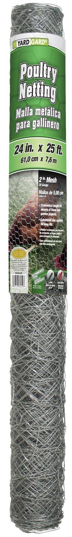 YARDGARD 308464B Fence, 25 feet, Silver by YARDGARD