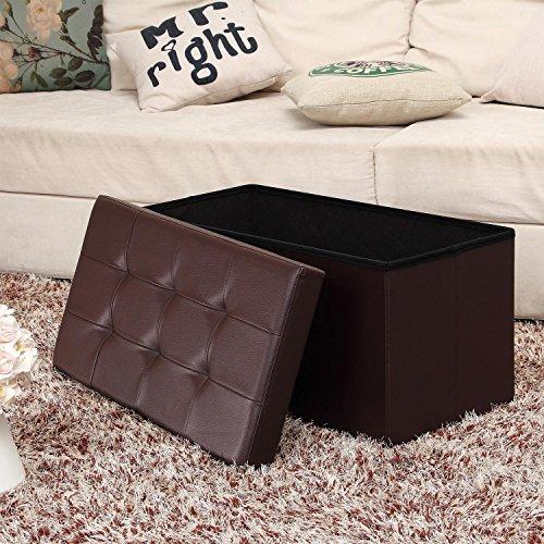 Ashley Furniture Signature Design – Rafferty Chairside End Table – Antique Finish with Metal Base – Rectangular – Dark Brown