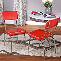 TMS Retro Dining Chair - Set of 2