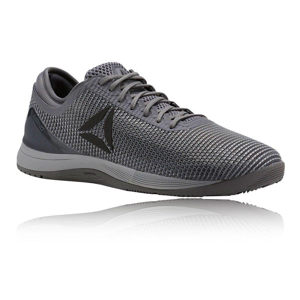 Reebok R Crossfit Nano 8.0, Zapatillas de Deporte para Hombre 42.5 EU|Gris (Tin Grey/Shark Ash Grey/Dark Silver Tin Grey/Shark Ash Grey/Dark Silver)