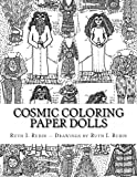img - for Cosmic Coloring Paper Dolls book / textbook / text book