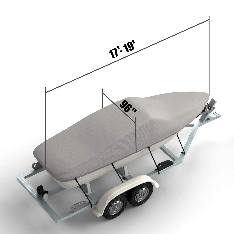 Amazon.com: Kohree cubierta para barco de runabout para ...