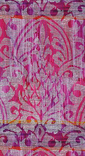 Entertaining with Caspari Damask Amethyst Guest Towels, Pack of 15