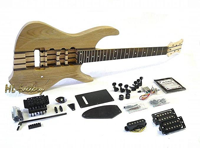 Guitarra Eléctrica/Guitar DIY Kit ML-Factory® ML Through Neck ...