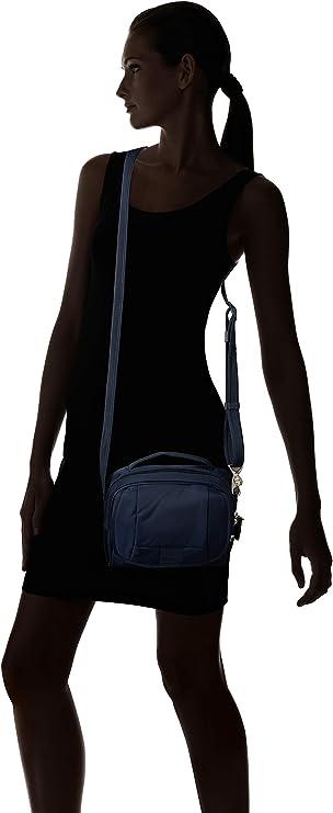 Pacsafe Metrosafe LS140 anti-theft compact shoulder bag Bolso bandolera 24 cm Deep Navy 638 Azul 5 liters
