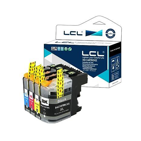 LCL Cartucho de Tinta Compatible LC127XL LC125XL LC127XLBK ...