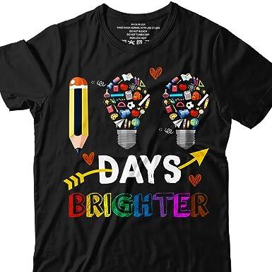 0009e8a605a Amazon.com: 100 Days of School 100th Brighter Pencil Light Bulb T ...