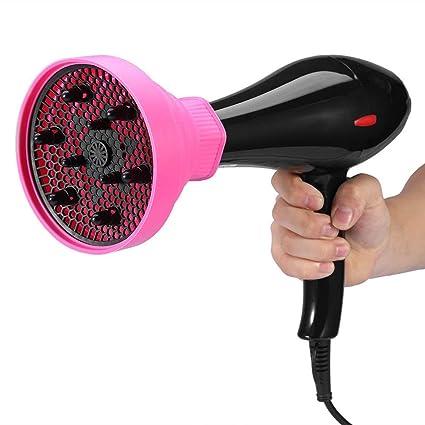 El secado de viaje portátil plegable universal de silicona Secador de pelo del ventilador de la